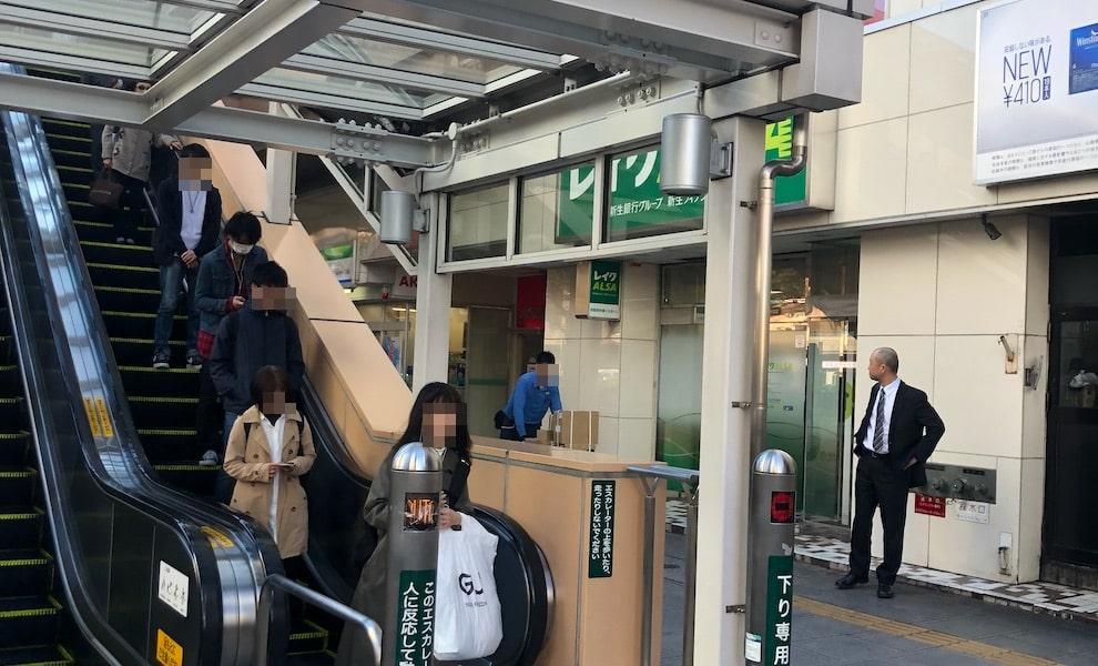 仙台駅前店へのルート画像1枚目