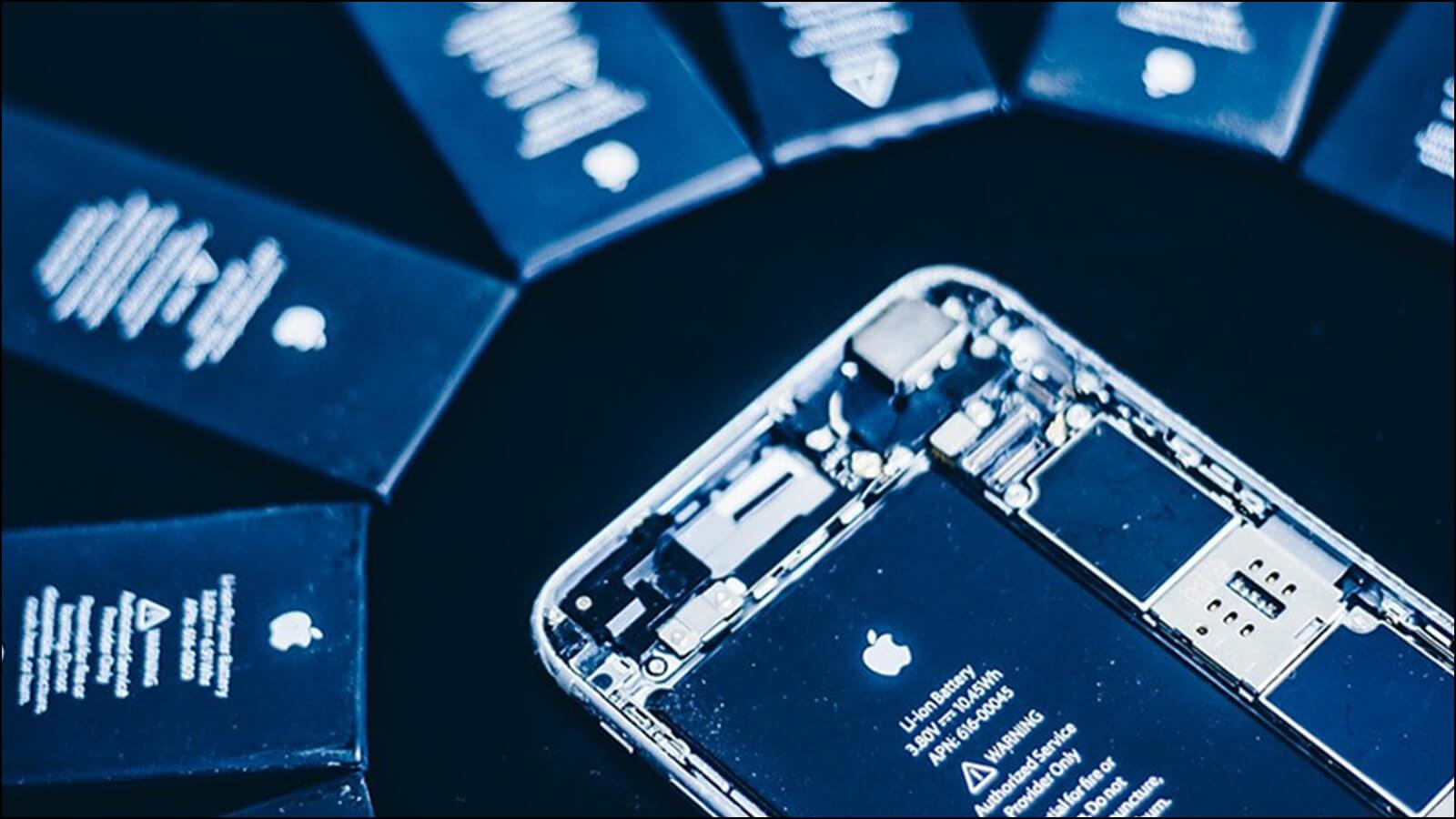iPhoneバッテリー|早めに交換して新品時の性能を取り戻す