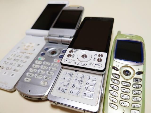 【画面映らない】830p 携帯電話 2020年10月25日